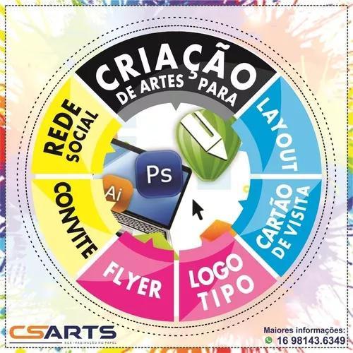 Criação De Logotipo E Conteúdo Digital
