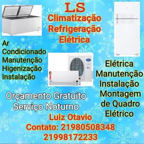 Manutenção, Instalação E Limpesa De Ar Condicionado