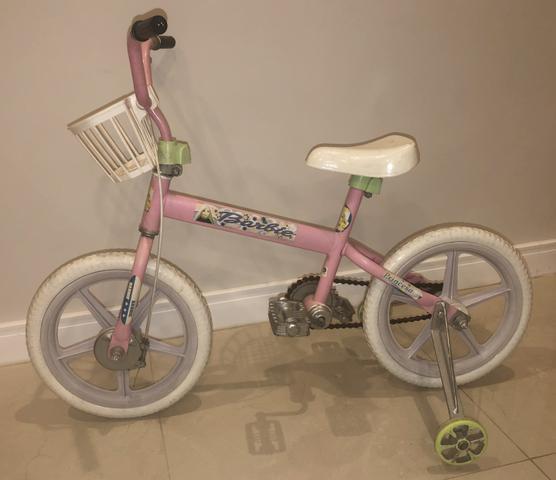 Bicicleta infantil feminina até 6 anos com rodinhas