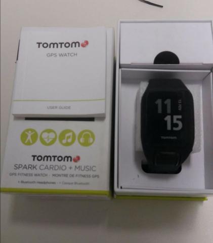 Relógio TomTom Spark Cardio + Music + Bluetooh Headphone