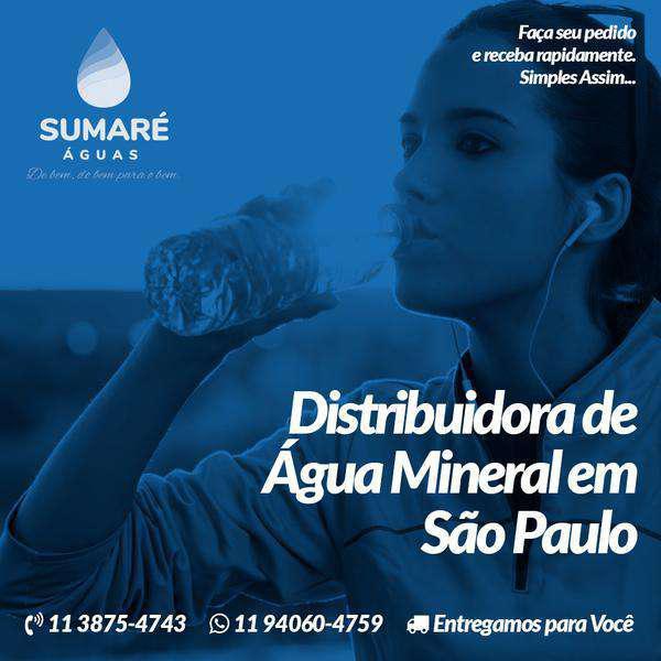 Sumaré Águas ¿ Distribuidora de Água Mineral em São