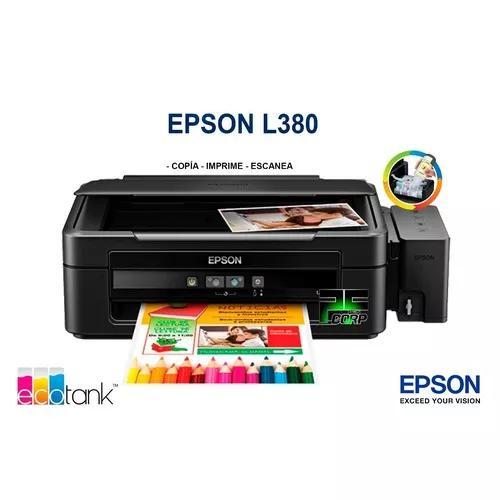Impressora Epson Sublimática Inktec L380 + Perfil + Papel