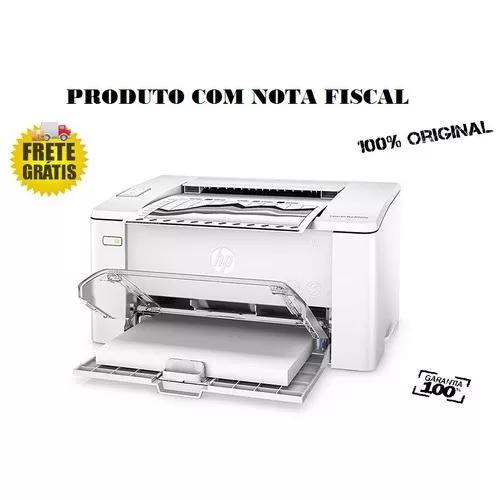 Impressora Hp Laser Lançamento M102 110v C/nota Fiscal
