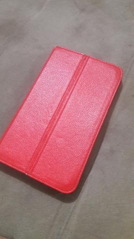 Tablet Samsung tab 3 com plástico ainda