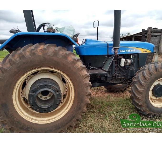 Trator New Holland 7630 4x4 (Apenas 3.500 Horas!)
