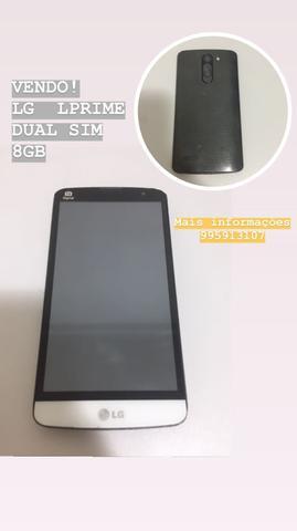 Vendo celular LG LPRIME 8GB - Dual sim - TV digital
