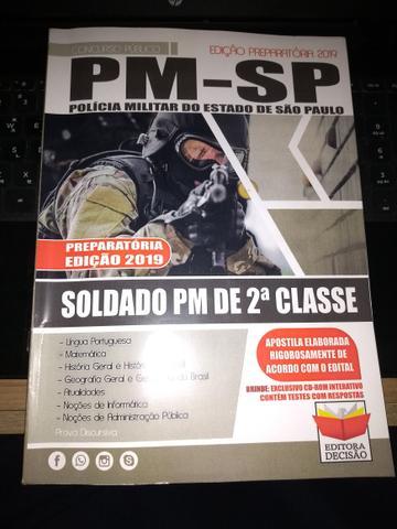 Apostila preparatória para o concurso da PM SP