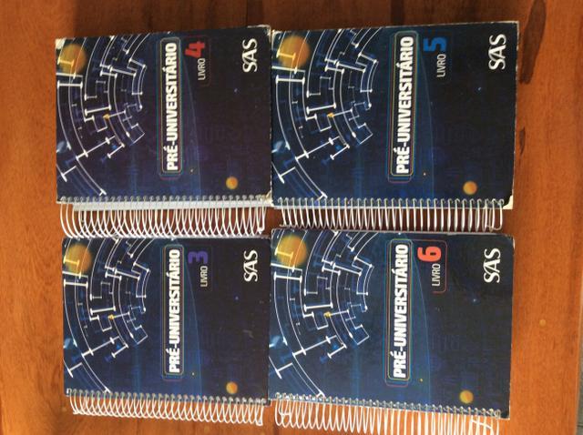 Coleção SAS 3 ano ensino médio/Pre-Universitário