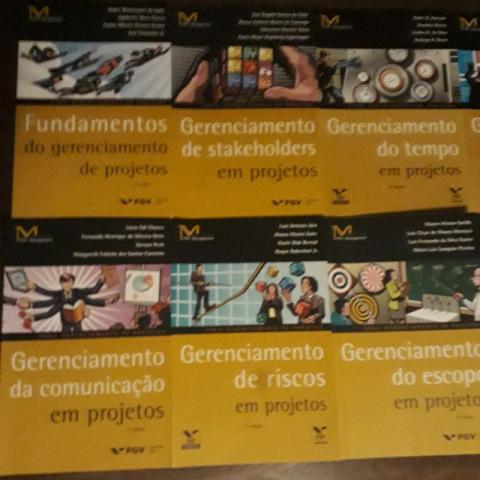Coleção completa FGV Gerenciamento de Projetos