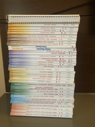 Coleção livros Objetivo pré-vestibular