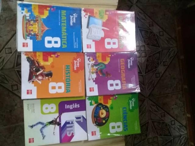 Conjunto De Livros/apostilas Viver Juntos Sm 8.o Ano