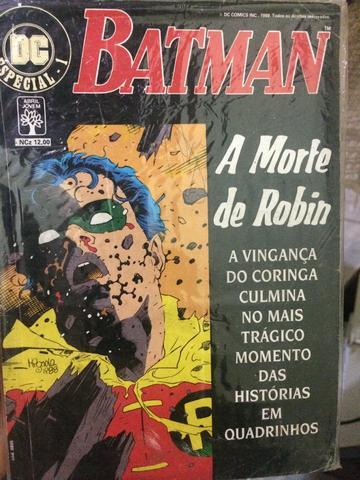 DC A morte do Robin (morte em família) edição original