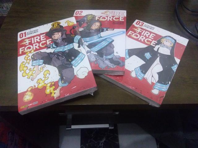 Fire force 1 ao 3