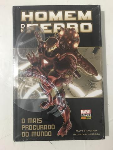 Homem de Ferro - O mais procurado do Mundo - Livro capa dura