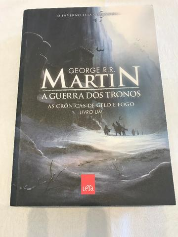 Livro 1: A Guerra Dos Tronos As Crônicas De Gelo E Fogo