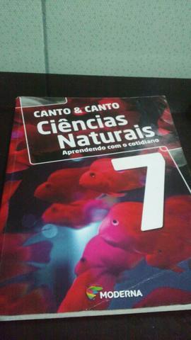 Livro Canto & Canto Ciências Naturais 7° ano