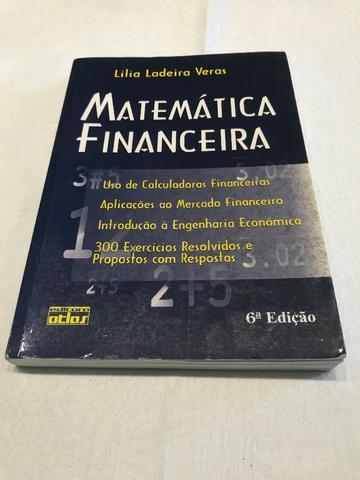 Livro Matemática Financeira - Lilia Ladeira Veras