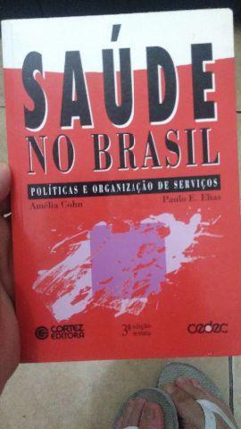 Livro Saúde no Brasil