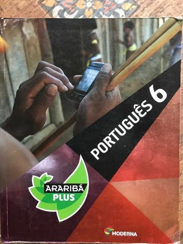 Livro de português 6 Araribá Plus