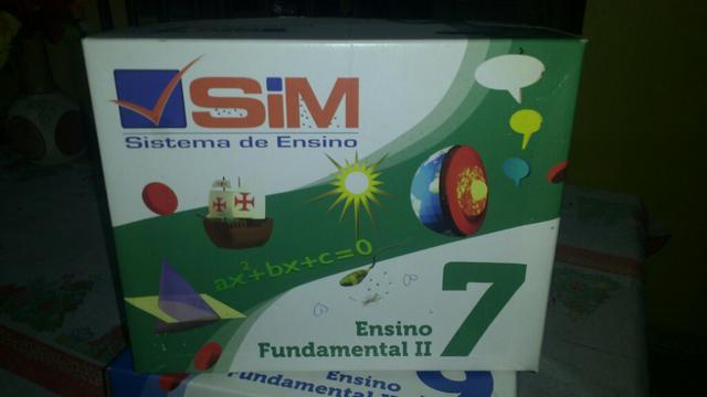 Livros 7* ano sistema (sim)