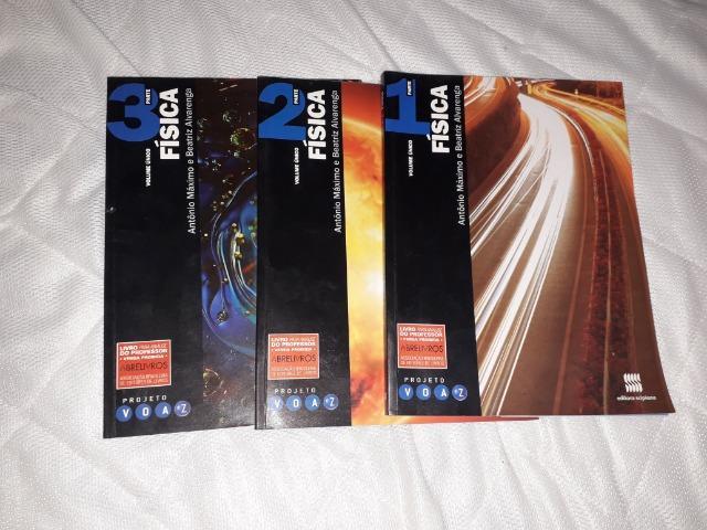 Livros de Física Ensino Médio - Projeto Voaz (pack com 3)