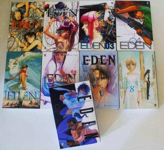 Manga eden coleção completa - aceito pagamento em cartao