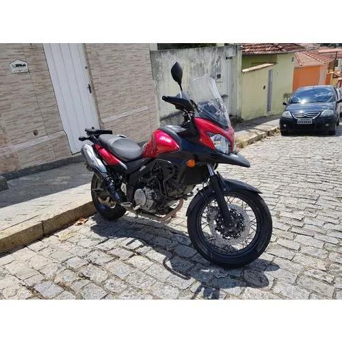 Suzuki V Strom 650 Xt Dl650xt 2016 Vermelha Abs Compelta