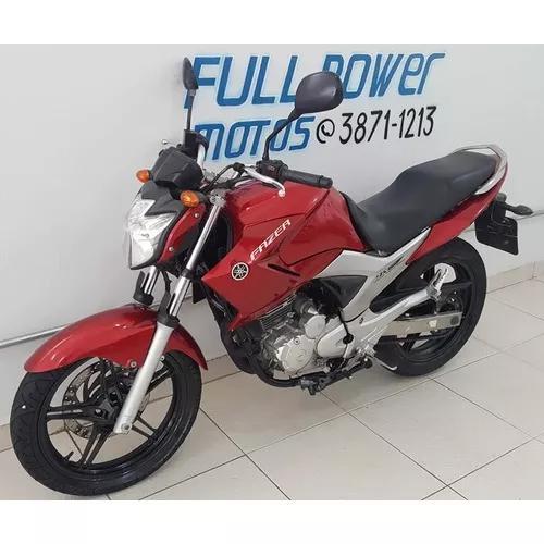 Yamaha Fazer 250 Vermelha 2012/12