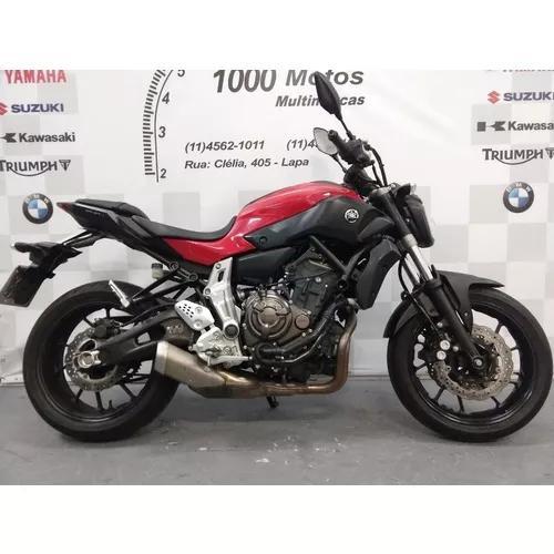 Yamaha Mt 07 2016 Otimo Estado Aceito Moto