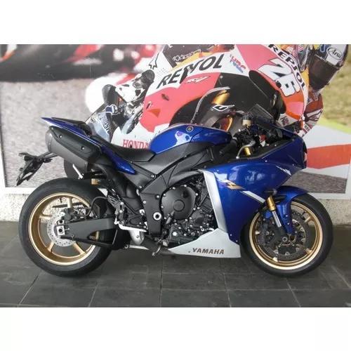 Yamaha R 1 2013 Unico Dono Est Troca 13822 Km Cbr Zx10 R1