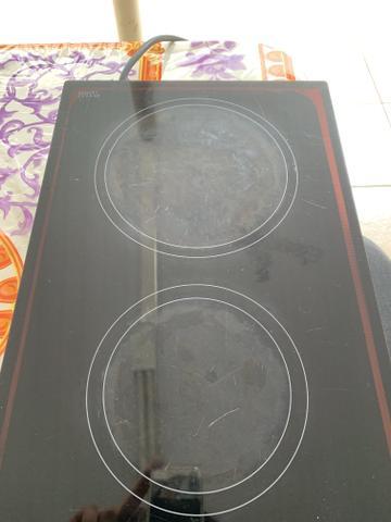Fogão elétrico Fischer cooktop