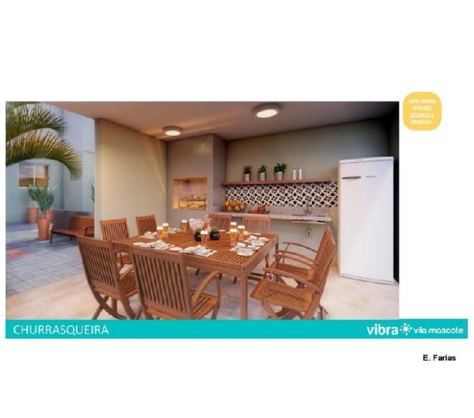 Vila Mascote Aptos 2 dorm 34 e 39 m² Lançamento McMvida