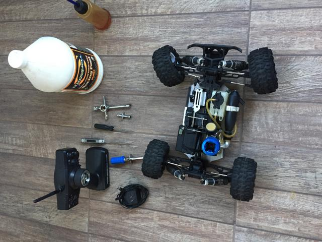 Automodelo a Combustão / Glow 1/10 monster Truck motor 18