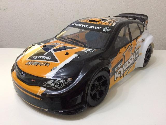 Automodelo a Combustão Kyosho DRX Subaru Impreza WRX