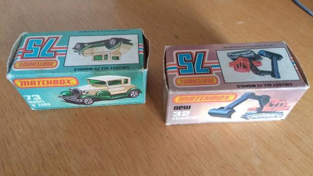 Carrinhos Matchbox anos 70 e 80