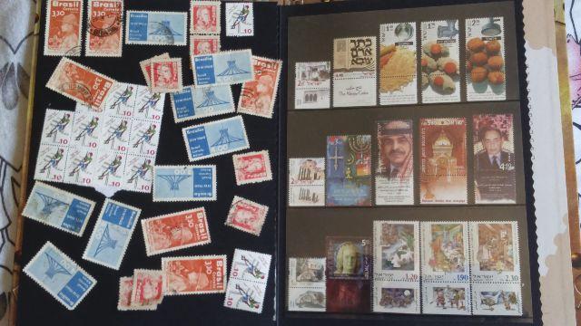 Coleção de selos do oriente médio