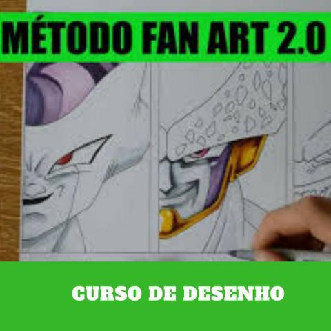 Curso de Desenho Método Fan art 2.0