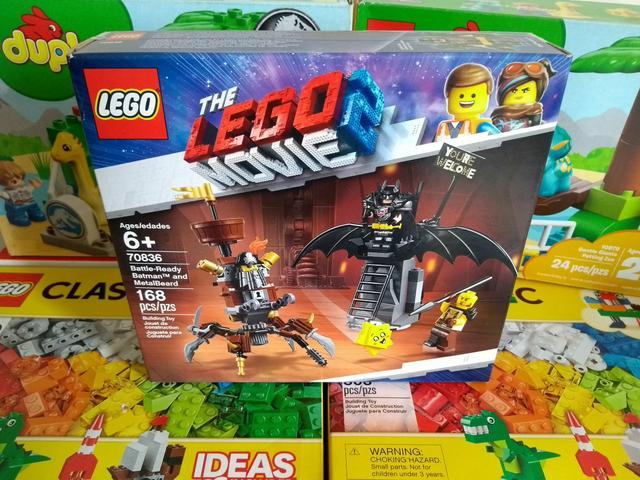 Lançamento Lego The Movie 2 - Batman Vs. Barba de Ferro!