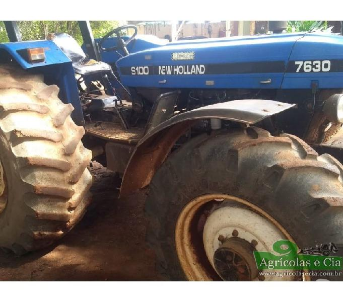 Trator New Holland 7630 4x4 (Único Dono - 5.400 H!)