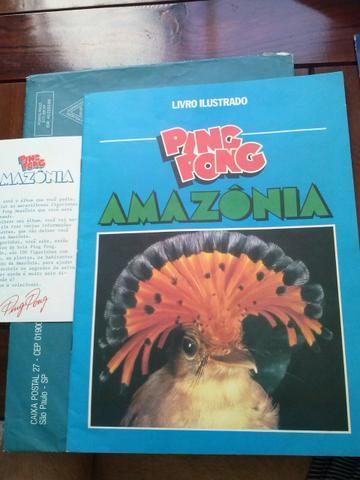 Álbum de figurinhas Pantanal, Amazônia e Fundo do Mar Ping
