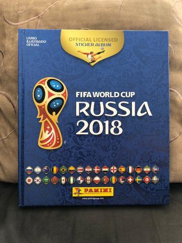 Álbum de figurinhas da Copa Mundo  completo edição