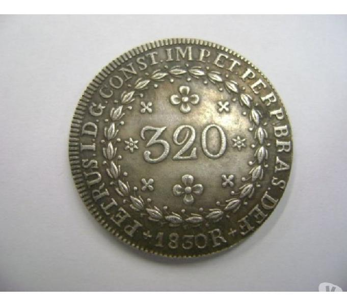 COMPRO MOEDAS ANTIGAS D PRATA 1.643 A 1848-Pago R$5.000 O Kg