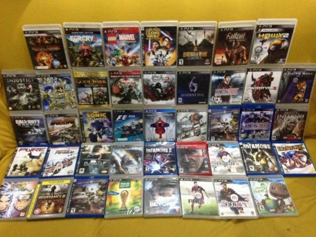 Jogos Originais Playstation 3 PS3 Novos e Usados Lista na