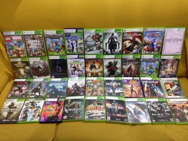 Jogos Originais Xbox 360 Novos Lacrados e Usados Lista nas