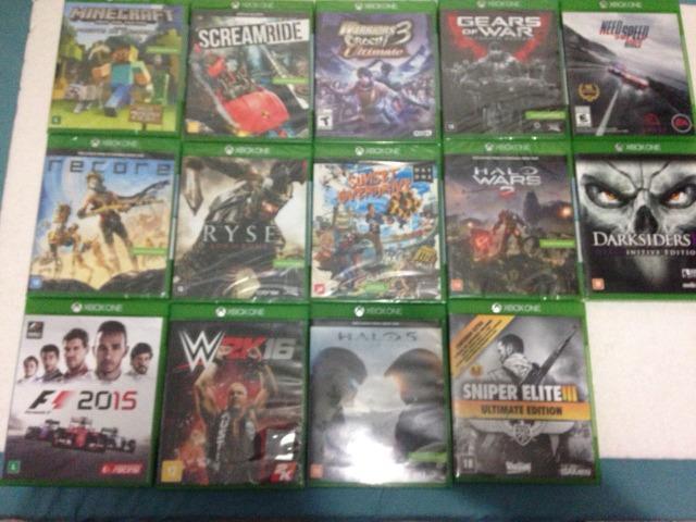 Jogos Originais Xbox One Novos e Usados Lista na Descrição
