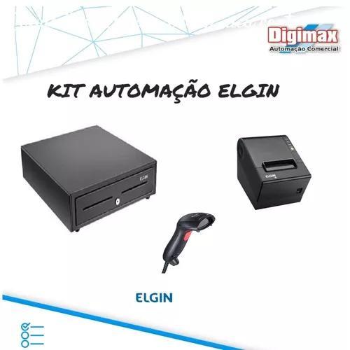 Kit Automação Comecial Elgin Leitor + Impressora + Gaveta
