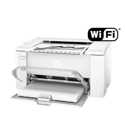 Mpressora Laser Hp Usb/wifi Lançamento M102 220v