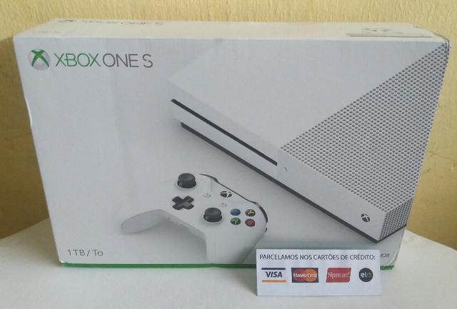 Xbox one S 1 tera 4k novo lacrado com garantia