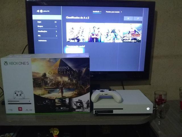 Xbox one s 1 tr pra venda ou negocio leia o anuncio
