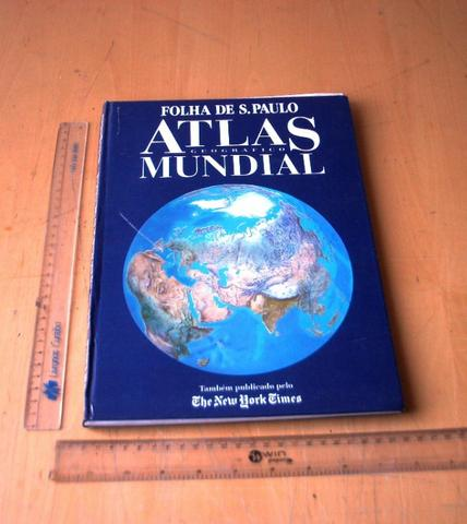Colecionável - Atlas Geográfico - Folha De São Paulo -